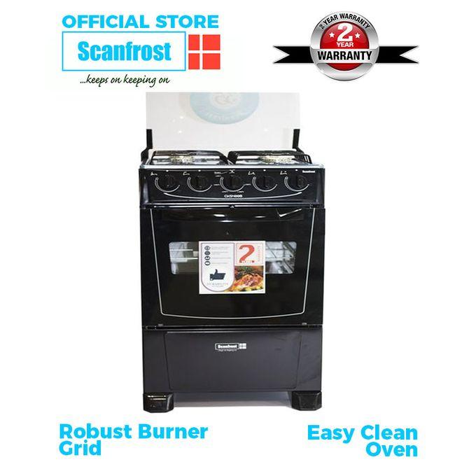 Scanfrost 4-Burner Gas Cooker CK-5400 NG